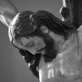 Cristo Crucificado. Anónimo genovés, s. XVIII.
